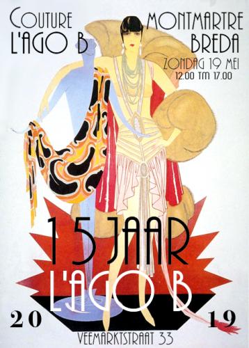 Poster Montmartre mei 2019
